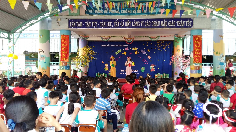 Lễ hội vui xuân bé hát dân ca